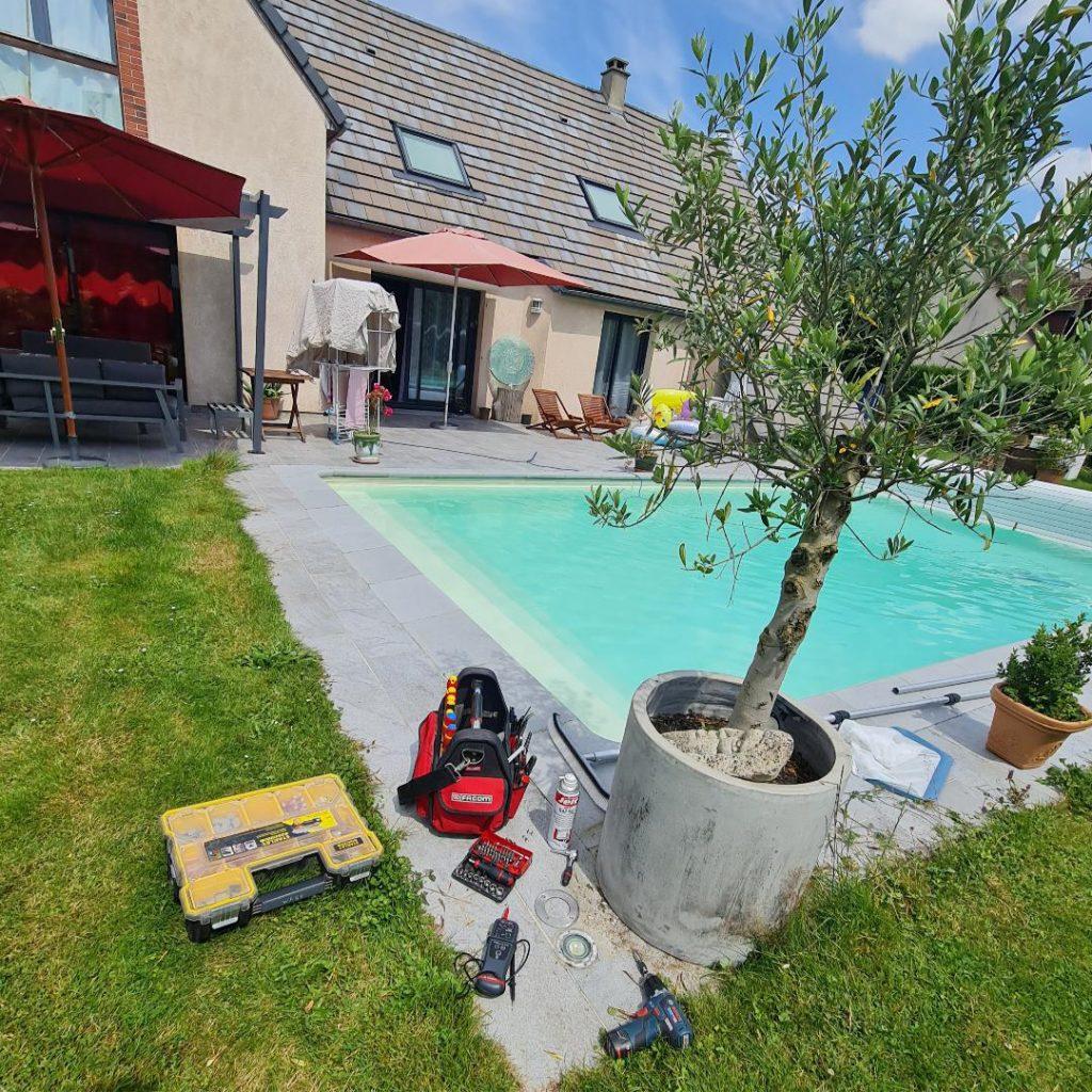 Dépannage électrique piscine à Rouen